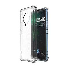 Ultra-thin Transparent TPU Soft Case Cover for Vivo X50e 5G Clear