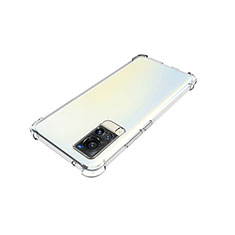 Ultra-thin Transparent TPU Soft Case Cover for Vivo X60 5G Clear