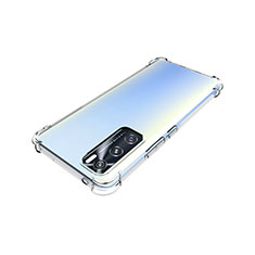 Ultra-thin Transparent TPU Soft Case Cover for Vivo Y70 (2020) Clear