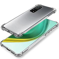 Ultra-thin Transparent TPU Soft Case Cover for Xiaomi Mi 10T 5G Clear