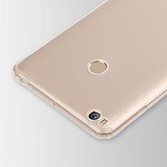 Ultra-thin Transparent TPU Soft Case Cover for Xiaomi Mi Max 2 Clear