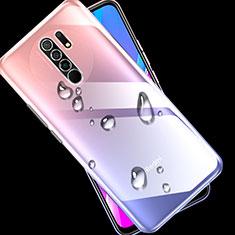 Ultra-thin Transparent TPU Soft Case Cover for Xiaomi Redmi 9 Prime India Clear