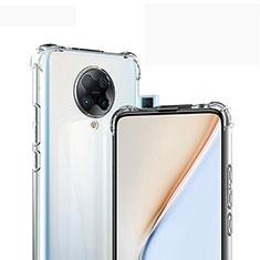 Ultra-thin Transparent TPU Soft Case Cover for Xiaomi Redmi K30 Pro 5G Clear