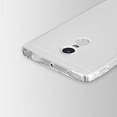 Ultra-thin Transparent TPU Soft Case Cover for Xiaomi Redmi Note 4 Clear
