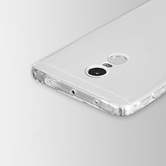 Ultra-thin Transparent TPU Soft Case Cover for Xiaomi Redmi Note 4X High Edition Clear