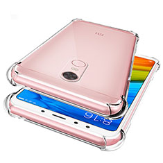 Ultra-thin Transparent TPU Soft Case Cover for Xiaomi Redmi Note 5 Indian Version Clear