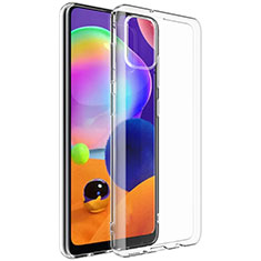 Ultra-thin Transparent TPU Soft Case Cover G01 for Samsung Galaxy A31 Clear