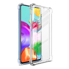 Ultra-thin Transparent TPU Soft Case Cover G01 for Samsung Galaxy A41 Clear