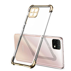 Ultra-thin Transparent TPU Soft Case Cover H01 for Huawei Enjoy 20 5G Gold
