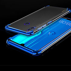 Ultra-thin Transparent TPU Soft Case Cover H01 for Huawei Enjoy Max Blue