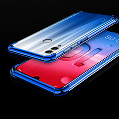 Ultra-thin Transparent TPU Soft Case Cover H01 for Huawei Honor 10 Lite Blue
