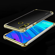 Ultra-thin Transparent TPU Soft Case Cover H01 for Huawei Honor 20 Lite Gold