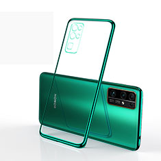 Ultra-thin Transparent TPU Soft Case Cover H01 for Huawei Honor 30 Green