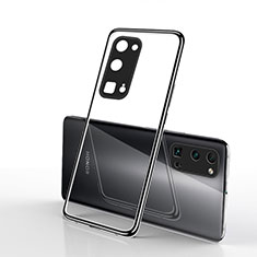 Ultra-thin Transparent TPU Soft Case Cover H01 for Huawei Honor 30 Pro Black