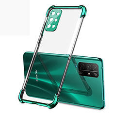 Ultra-thin Transparent TPU Soft Case Cover H01 for Huawei Honor 30S Green
