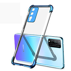 Ultra-thin Transparent TPU Soft Case Cover H01 for Huawei Honor Play4T Pro Blue