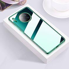 Ultra-thin Transparent TPU Soft Case Cover H01 for Huawei Mate 30E Pro 5G Green