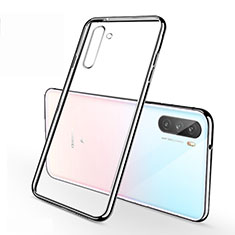 Ultra-thin Transparent TPU Soft Case Cover H01 for Huawei Mate 40 Lite 5G Silver