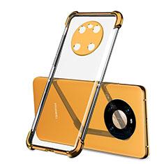 Ultra-thin Transparent TPU Soft Case Cover H01 for Huawei Mate 40 Orange