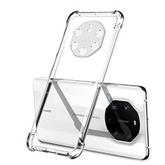 Ultra-thin Transparent TPU Soft Case Cover H01 for Huawei Mate 40 RS Clear