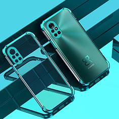 Ultra-thin Transparent TPU Soft Case Cover H01 for Huawei Nova 8 Pro 5G Green