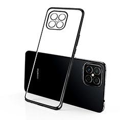 Ultra-thin Transparent TPU Soft Case Cover H01 for Huawei Nova 8 SE 5G Black