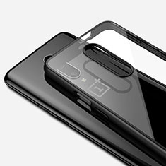 Ultra-thin Transparent TPU Soft Case Cover H01 for OnePlus 7 Pro Black