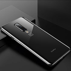 Ultra-thin Transparent TPU Soft Case Cover H01 for OnePlus 8 Black
