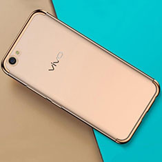 Ultra-thin Transparent TPU Soft Case Cover H01 for Oppo A71 Gold