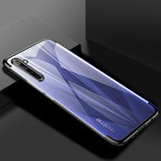 Ultra-thin Transparent TPU Soft Case Cover H01 for Realme 6 Pro Black