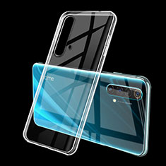 Ultra-thin Transparent TPU Soft Case Cover H01 for Realme X50 5G Clear