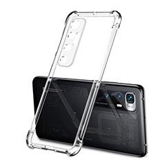 Ultra-thin Transparent TPU Soft Case Cover H01 for Xiaomi Mi 10 Ultra Clear
