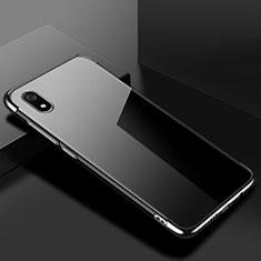 Ultra-thin Transparent TPU Soft Case Cover H01 for Xiaomi Redmi 7A Black