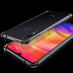 Ultra-thin Transparent TPU Soft Case Cover H01 for Xiaomi Redmi Note 7 Black