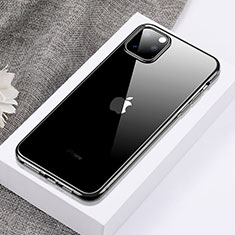 Ultra-thin Transparent TPU Soft Case Cover H02 for Apple iPhone 11 Pro Max Black