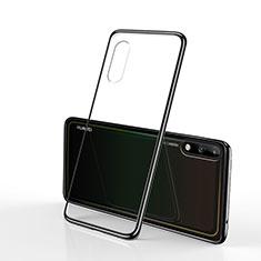 Ultra-thin Transparent TPU Soft Case Cover H02 for Huawei Enjoy 10 Black