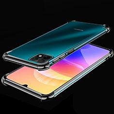 Ultra-thin Transparent TPU Soft Case Cover H02 for Huawei Enjoy 20 5G Black