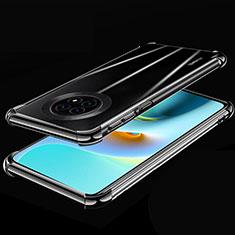 Ultra-thin Transparent TPU Soft Case Cover H02 for Huawei Enjoy 20 Plus 5G Black