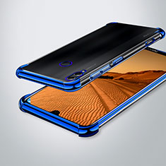 Ultra-thin Transparent TPU Soft Case Cover H02 for Huawei Enjoy Max Blue