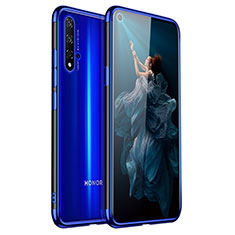 Ultra-thin Transparent TPU Soft Case Cover H02 for Huawei Honor 20 Blue