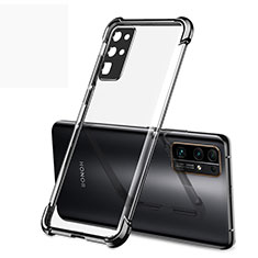 Ultra-thin Transparent TPU Soft Case Cover H02 for Huawei Honor 30 Black