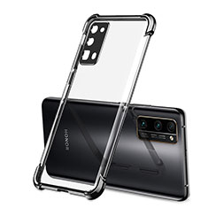Ultra-thin Transparent TPU Soft Case Cover H02 for Huawei Honor 30 Pro Black