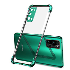 Ultra-thin Transparent TPU Soft Case Cover H02 for Huawei Honor 30 Pro Green