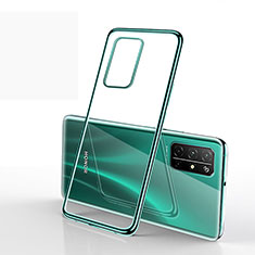 Ultra-thin Transparent TPU Soft Case Cover H02 for Huawei Honor 30S Green