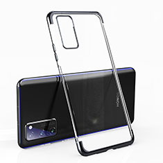 Ultra-thin Transparent TPU Soft Case Cover H02 for Huawei Honor View 30 Pro 5G Black