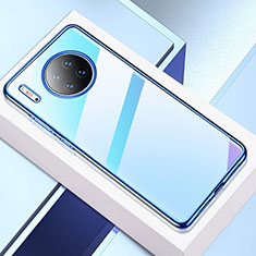 Ultra-thin Transparent TPU Soft Case Cover H02 for Huawei Mate 30 Pro Blue