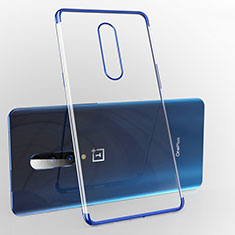 Ultra-thin Transparent TPU Soft Case Cover H02 for OnePlus 7 Pro Blue