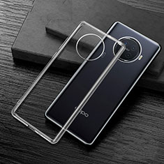 Ultra-thin Transparent TPU Soft Case Cover H02 for Oppo Ace2 Clear