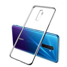 Ultra-thin Transparent TPU Soft Case Cover H02 for Realme X2 Pro Black
