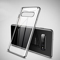 Ultra-thin Transparent TPU Soft Case Cover H02 for Samsung Galaxy S10 Black